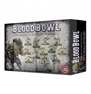 Blood Bowl The Scarcrag Snivellers Team