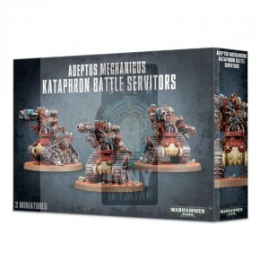 Adeptus Mechanicus: Kataphron Battle Servitors Breachers/Destroyers