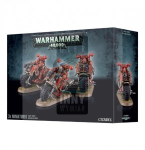 Chaos Space Marines: Chaos Bikers -> Gry Bitewne > Warhammer 40k > Chaos > Chaos Space Marines