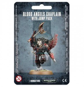 Space Marines: Chaplain With Jump Pack