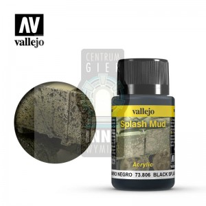 Vallejo Weathering Effects: Black Splash Mud