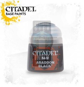 Citadel Base: Abbadon Black