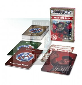 Blood Bowl Team Card Pack – Orc Team