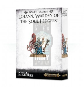 Idoneth Deepkin  - Lotann, Warden of the Soul Ledgers