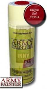 Army Painter Primer : Dragon Red