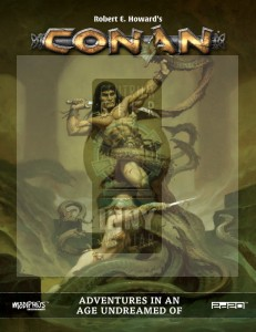 Conan RPG: Adventures in an Age  Undreamed Of (Core Book- Hardback) + PDF
