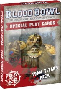 Blood Bowl Card Pack Team Titans Pack