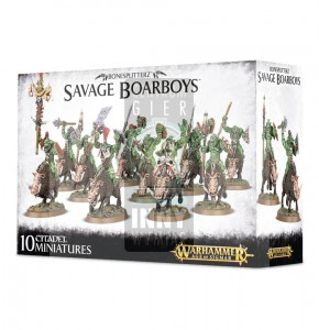 Aos Bonesplitterz:  Savage Boarboys